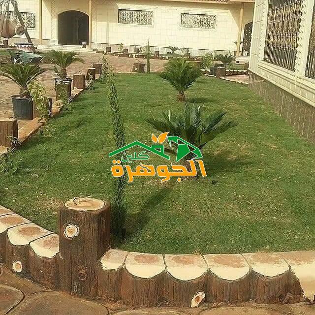 محلات العشب الصناعي أو النجيلة الصناعية في جدة