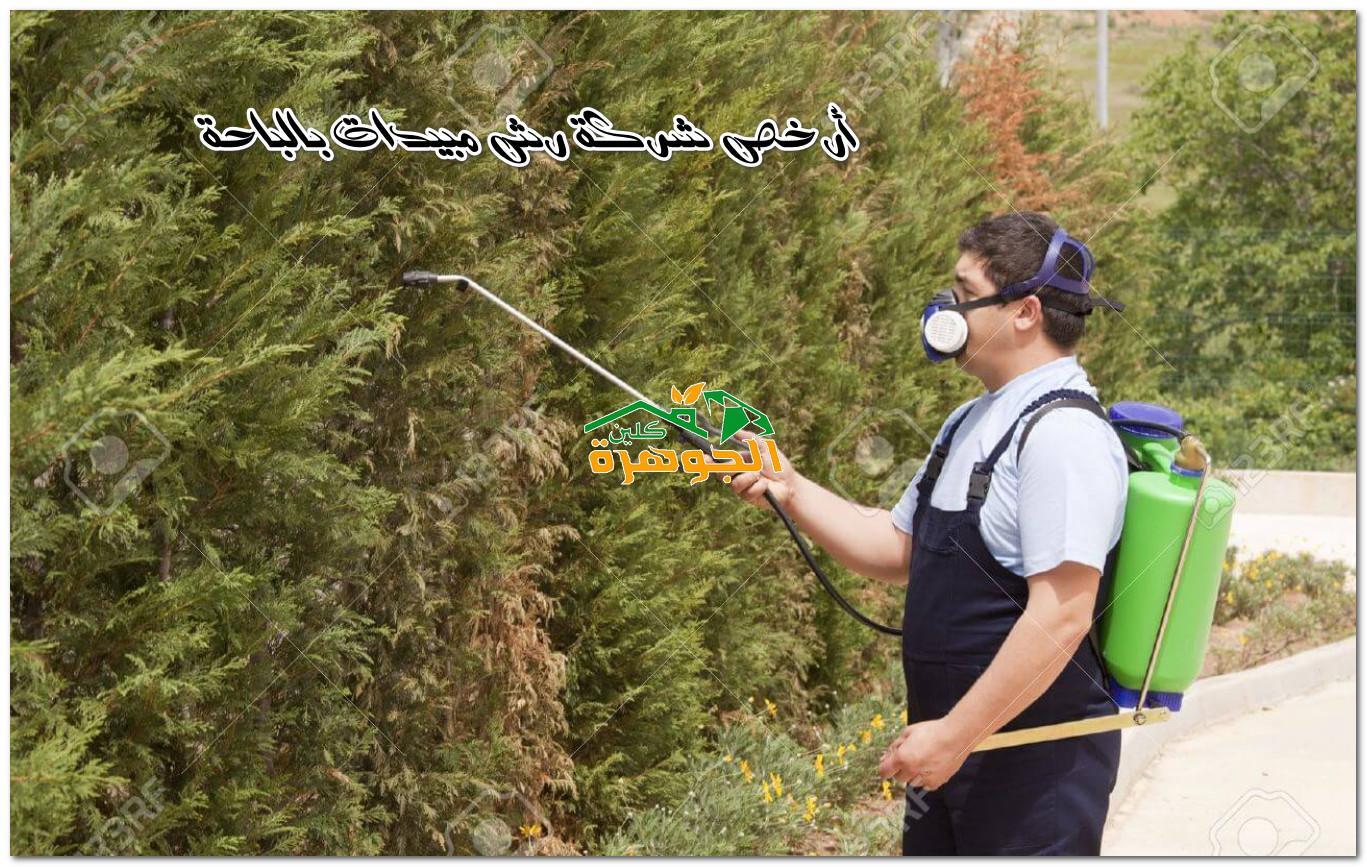 أرخص شركة رش مبيدات بالباحة