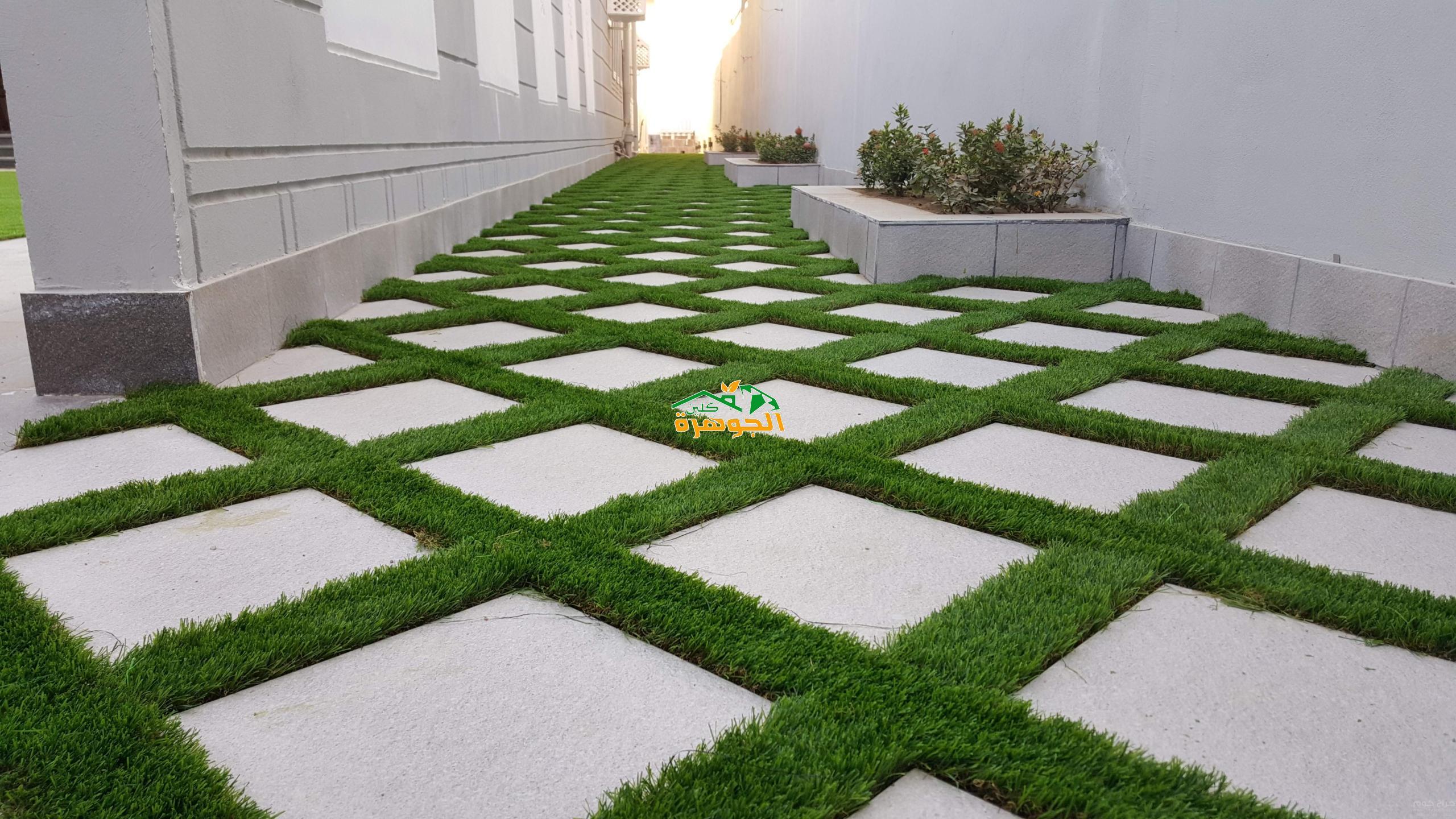 تركيب وتوريد عشب صناعي بالقطيف