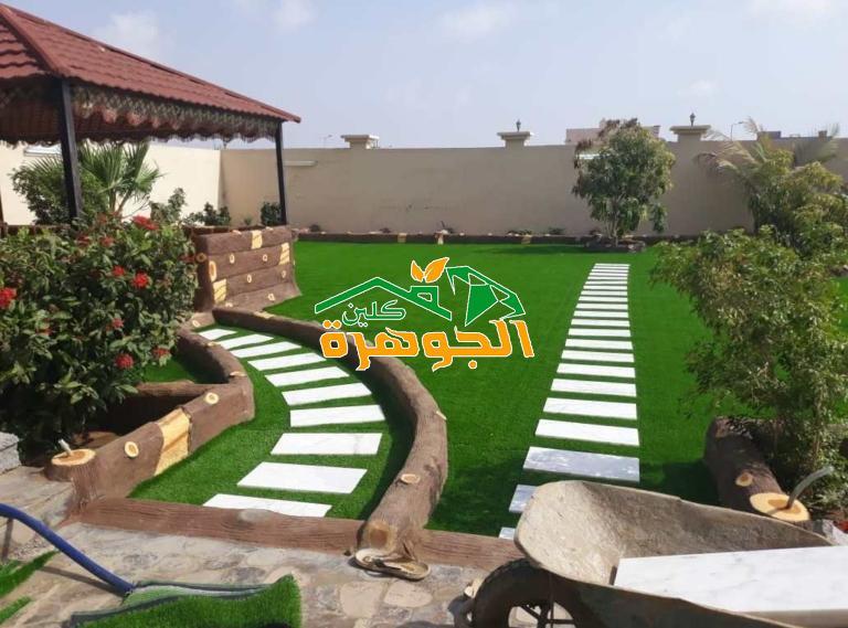 تصميم حدائق فلل خليجية بخميس مشيط