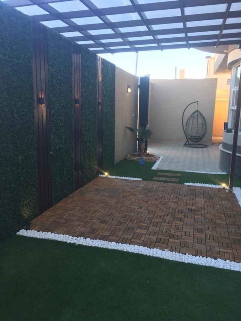 شركة تنسيق حدائق بالباحة وتركيب نجيلة وعشب صناعي